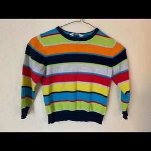 H&M Boys 4-6 Years Striped Lightweight Sweater